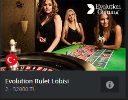 Evolution rulet Lobisi