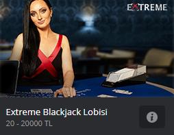 Extreme Blackjack Lobisi