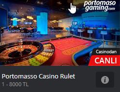 Portomasso casino rulet