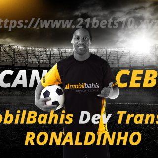 Mobilbahis Ronaldinho ile Samba Yapıyor