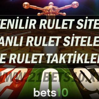 Güvenilir Rulet Siteleri - Canlı Rulet Siteleri ve Rulet Taktikleri